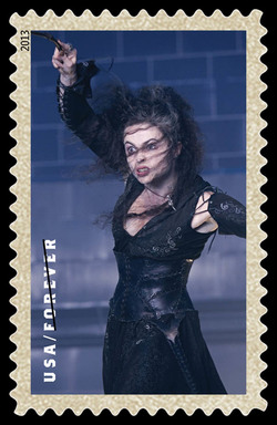 Bellatrix Lestrange United States Postage Stamp | Harry Potter