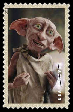 Dobby the House Elf United States Postage Stamp | Harry Potter