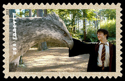 Buckbeak the Hippogriff United States Postage Stamp | Harry Potter