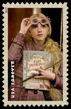Luna Lovegood United States Postage Stamp | Harry Potter