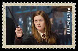 Ginny Weasley United States Postage Stamp | Harry Potter