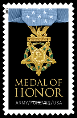 Army Medal of Honor United States Postage Stamp | Medal of Honor
