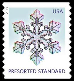 Snowflake #2 United States Postage Stamp | Snowflakes