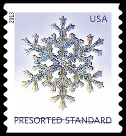 Snowflake #3 United States Postage Stamp | Snowflakes
