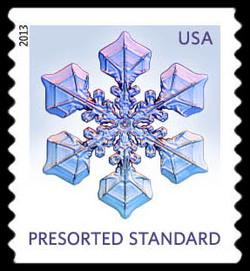 Snowflake #4 United States Postage Stamp | Snowflakes