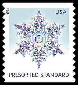 Snowflake #5 United States Postage Stamp | Snowflakes