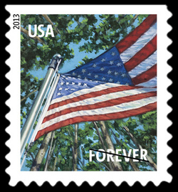 Summer Season Flag United States Postage Stamp | A Flag for All Seasons