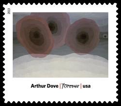 Fog Horns - Arthur Dove United States Postage Stamp | Modern Art in America 1913-1931