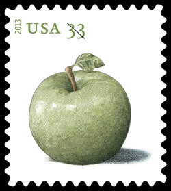 Granny Smith Apple United States Postage Stamp | Apples