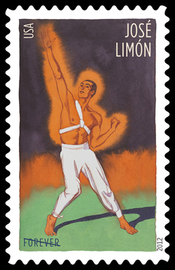 Jose Limon United States Postage Stamp | Innovative Choreographers