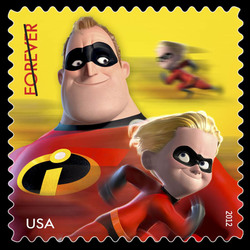 The Incredibles United States Postage Stamp | Mail a Smile