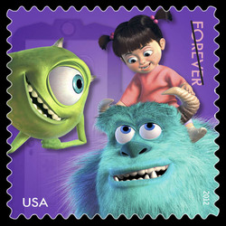 Monsters, Inc. United States Postage Stamp | Mail a Smile