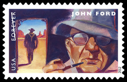 John Ford United States Postage Stamp | Great Film Directors