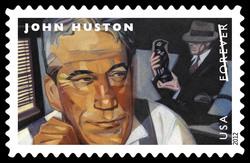 John Huston United States Postage Stamp | Great Film Directors
