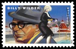 Billy Wilder United States Postage Stamp | Great Film Directors