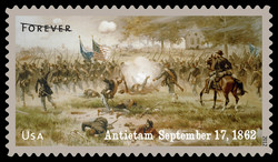 Antietam - September 17, 1862 United States Postage Stamp | Civil War Sesquicentennial