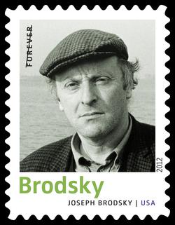 Joseph Brodsky United States Postage Stamp | Twentieth-Century Poets