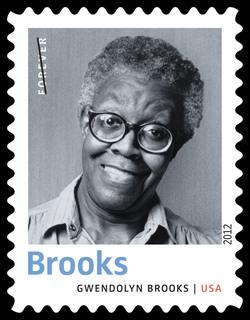 Gwendolyn Brooks United States Postage Stamp | Twentieth-Century Poets