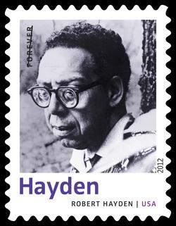 Robert Hayden United States Postage Stamp | Twentieth-Century Poets