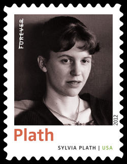 Sylvia Plath United States Postage Stamp | Twentieth-Century Poets