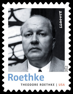 Theodore Roethke United States Postage Stamp | Twentieth-Century Poets