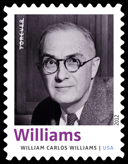William Carlos Williams United States Postage Stamp | Twentieth-Century Poets