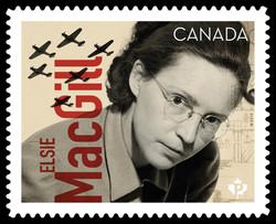 Elsie MacGill Canada Postage Stamp | Canadians in Flight