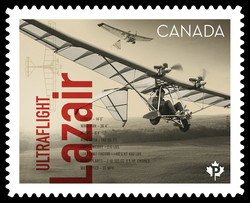 Ultraflight Lazair Canada Postage Stamp | Canadians in Flight