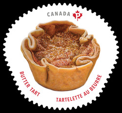 Butter Tart Canada Postage Stamp | Sweet Canada