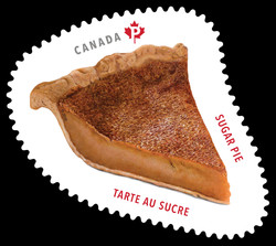 Sugar Pie Canada Postage Stamp | Sweet Canada