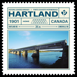 Historic Covered Bridges Canadian Postage Stamp Series