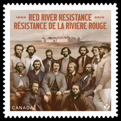 Red River Resistance - 1869-2019 Canada Postage Stamp