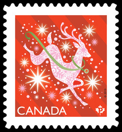 Shiny and Bright - Christmas 2019 Canadian Postage Stamp Series