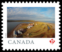 Herschel Island-Qikiqtaruk Territorial Park - Yukon Canada Postage Stamp | From Far and Wide