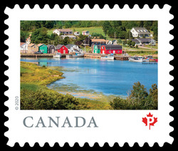 French River - Prince Edward Island Canada Postage Stamp | From Far and Wide
