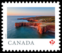 Iles De La Madeleine - Quebec Canada Postage Stamp | From Far and Wide