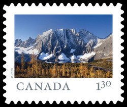 Kootenay National Park - British Columbia Canada Postage Stamp | From Far and Wide