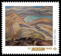 A.Y. Jackson - Labrador Coast (1930) Canada Postage Stamp | Group of Seven