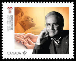 Dr. Balfour Mount - Palliative Care Canada Postage Stamp | Medical Groundbreakers