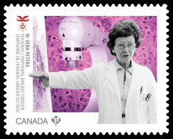 Dr. M. Vera Peters - Hodgkin Lymphoma and Breast Cancer Canada Postage Stamp | Medical Groundbreakers