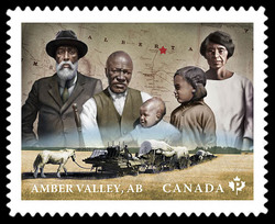 Amber Valley Farmers - Alberta Canada Postage Stamp | Black History Month