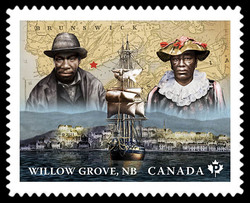 Willow Grove Farmers - New Brunswick Canada Postage Stamp | Black History Month
