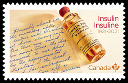 Insulin 100th Anniversary Canada Postage Stamp