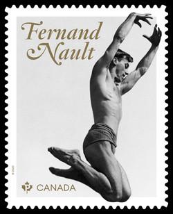 Fernand Nault Canada Postage Stamp | Canadian Ballet Legends